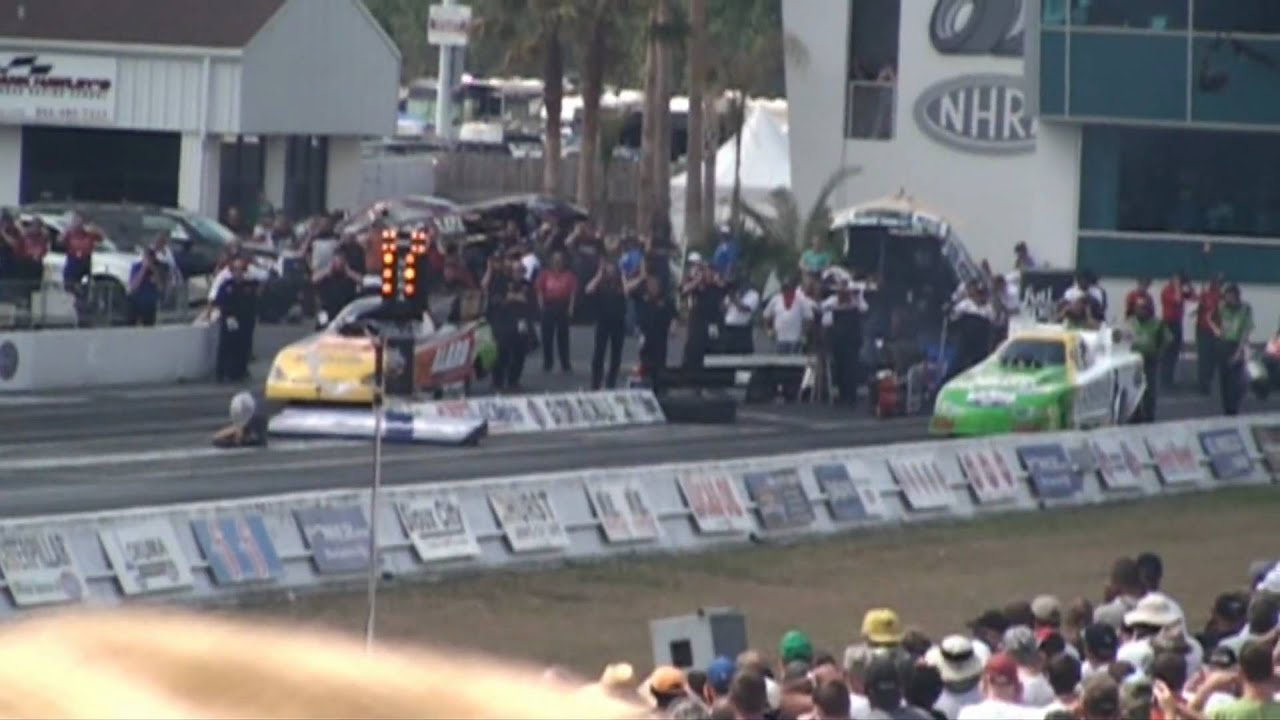 NHRA Drag Racing Gainesville Gator Nationals 2009 HD - YouTube
