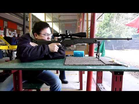 Accuracy International AW sniper rifle