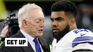 'Wow, Jerry is mad' – Mike Greenberg on the 'Zeke Who?' joke aftermath | Get Up