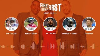 First Things First Audio Podcast(8.13.19) Cris Carter, Nick Wright, Jenna Wolfe | FIRST THINGS FIRST