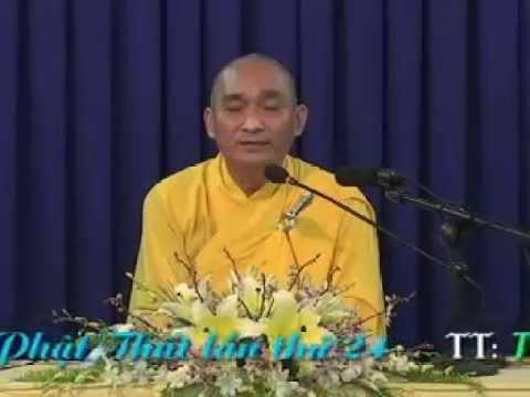 Khai Thị (Khóa Tu Phật Thất Lần Thứ 24)