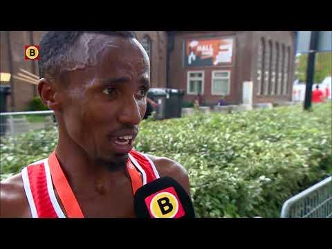 Abdi Nageeye zet nieuw Nederlands record neer: 'Happy'