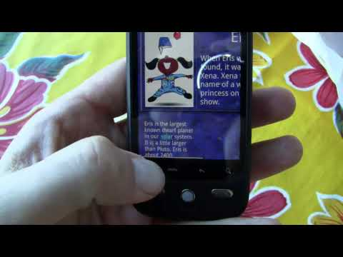 Verizon HTC Droid Eris (Hero) - Hands-On Video
