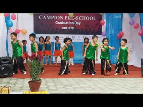Ghin ghin ghintang madal dance performed by lil kids in graduation day