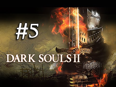 Dark Souls 2 Walkthrough Part 5 -  Knight Class & Estus Flask Shards (1080p Gameplay Commentary)
