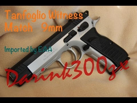 EAA Tanfoglio Witness match 9mm