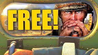 FREE CONTENT! New COD WWII SMG, Division, Riot Shield & Perks Added... More Coming Soon!? (NEW!)
