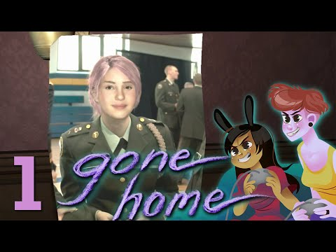 GONE HOME - 2 Girls 1 Let's Play Part 1: No One Home