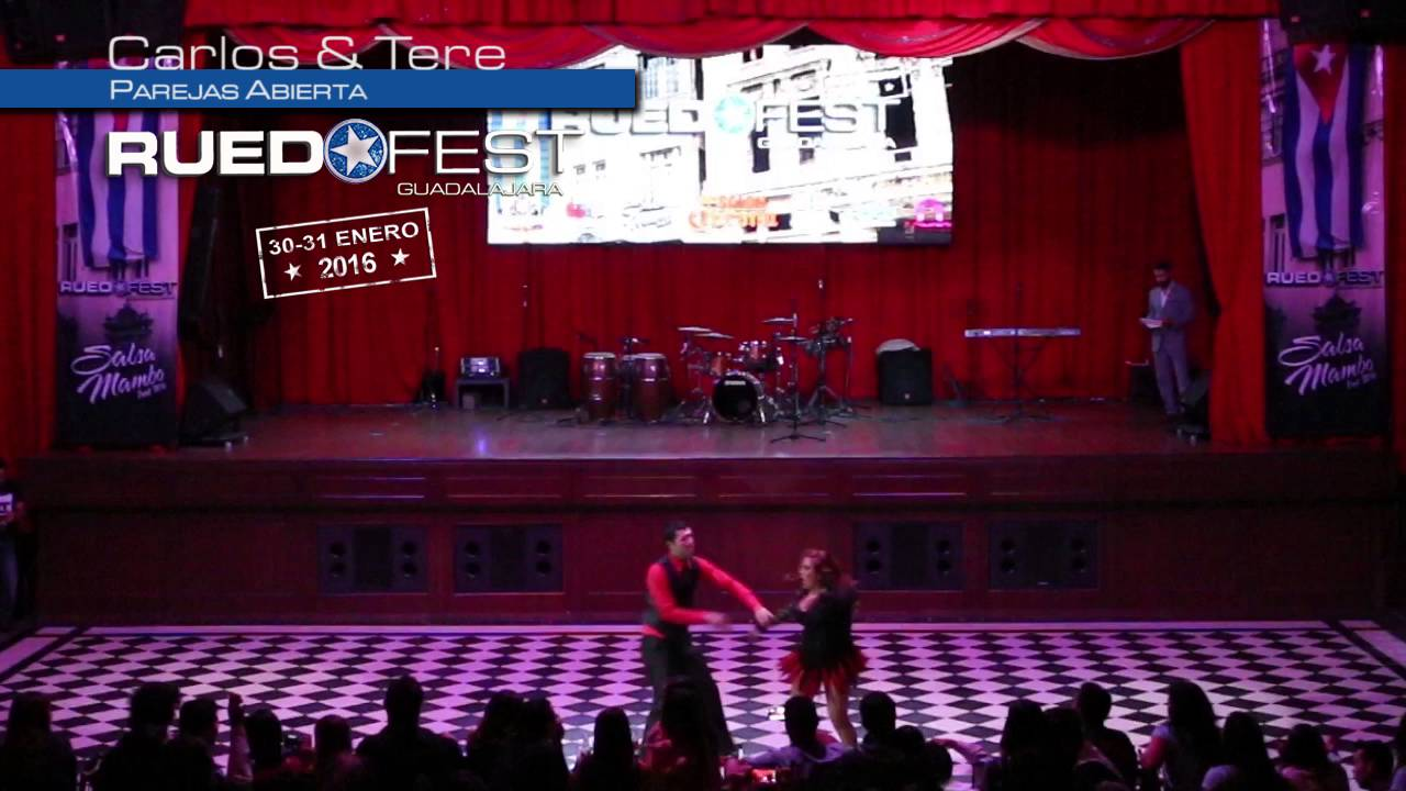 Carlos & Tere | Parejas Abierta | Ruedafest 2016