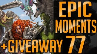 ⚡️Heroes of the Storm | Epic Moments #77 +GIVEAWAY