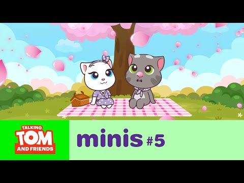 Talking Tom and Friends Minis - Spring Date (Episode 5)