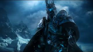 WoW Wrath of the Lich King Trailer Russian