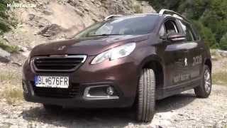 Peugeot 2008 crossover off road ride