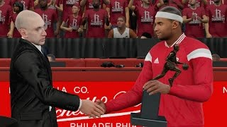 NBA 2K16 PS4 My Career - MVP Award! Playoffs QFG1
