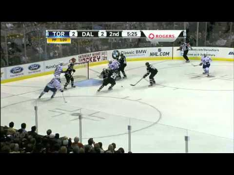 Toronto Maple Leafs vs Dallas Stars Game In 6 minutes November 25th 2011