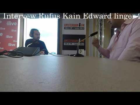 Interview over de eigen liedjes van Edward Linger bij OBA/Radio Amsterdam