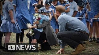 Prince Harry and Meghan Markle's visit to Dubbo | ABC News