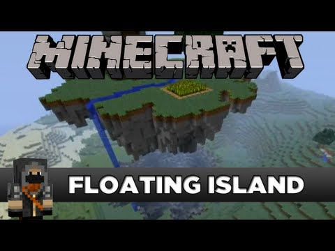 Minecraft - Floating island