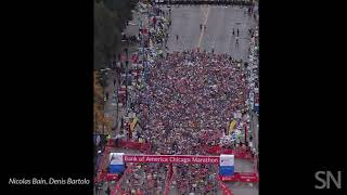 A crowd of runners behaves like a liquid at the start of a race | Science News