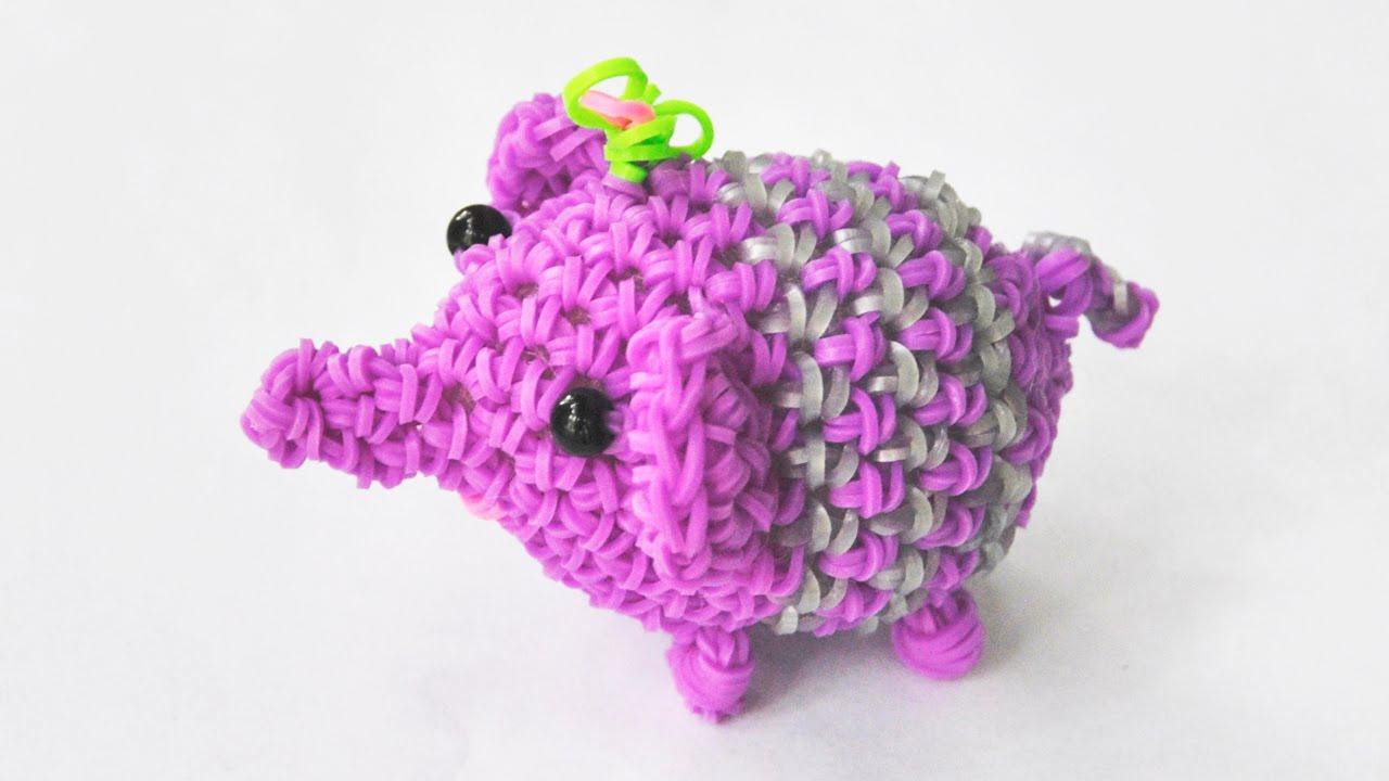 Видео плетения из резинок 3д фигурок