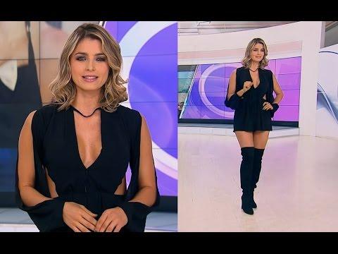 Cristina Hurtado, escote y piernotas, 11/11/2016