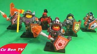 Lắp ráp LEGO Future Knights Hiệp Sỹ Tương Lai - Đồ Chơi LEGO, Đồ Chơi Trẻ Em   Cu Ben TV