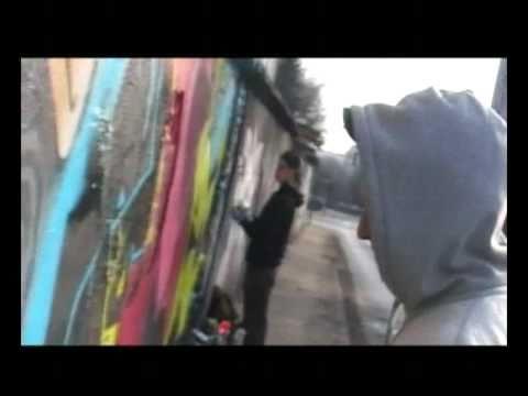 RIP NASC graffiti Kraków