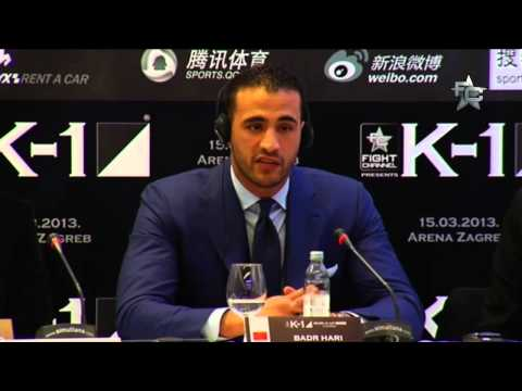 K-1 World GP Final 2013 Zagreb - Press Conference 1/2
