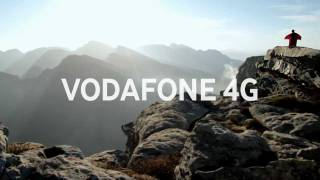 Vodafone 4G commercial - Wingsuit proximity in South Africa