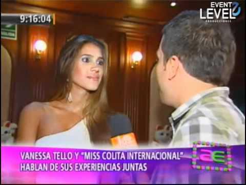 Betzaida Herrera conferencia de prensa en Perú - America Espectaculos