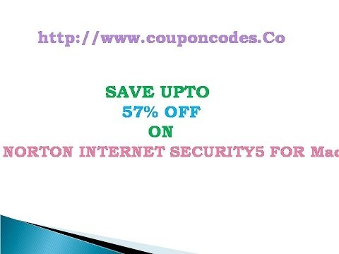 Norton Internet Security 5 for Mac  Coupon Code Get Upto 57% OFF