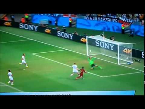 Germania-Ghana 2-2 [World Fifa Cup 2014]