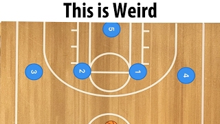 The Weirdest Basketball Zone Defense Ever - The 4-1 ... WHAT???