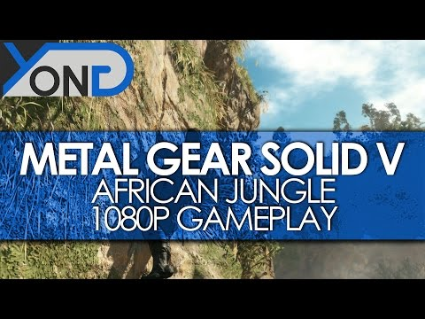 Metal Gear Solid V - African Jungle Gameplay w/ Dev Commentary (1080p High Quality)