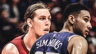 Ben Simmons HIT In the Face By DIRTY Olynyk Elbow! Embiid TROLLS Harden | 2018 NBA Playoffs