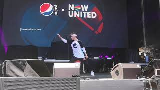 Now United - Face (Josh and Hina performance) (Live in Madrid)