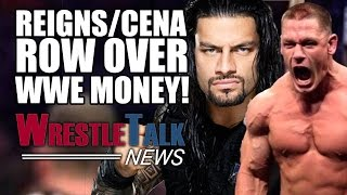 John Cena & Roman Reigns Argue About WWE Money! | WrestleTalk News Jan. 2017