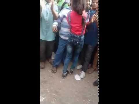 رقص بنت  شوفو البنت عملت فيا ايه يوم العيد