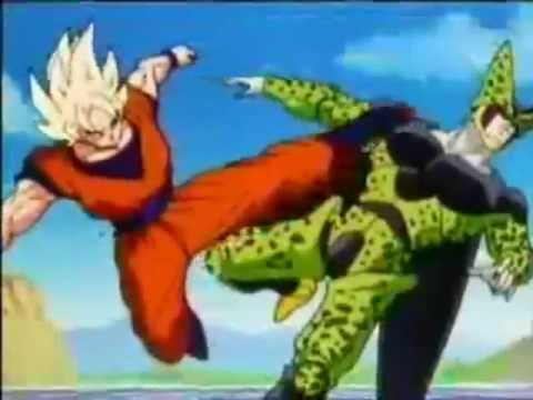 Goku E Gohan Vs Cell-linkin Park -in The End video