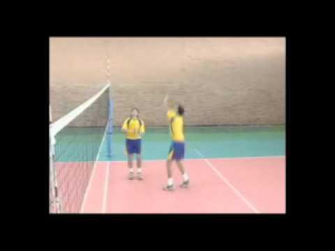 Voleibol - Enseñanza para el golpe del balón