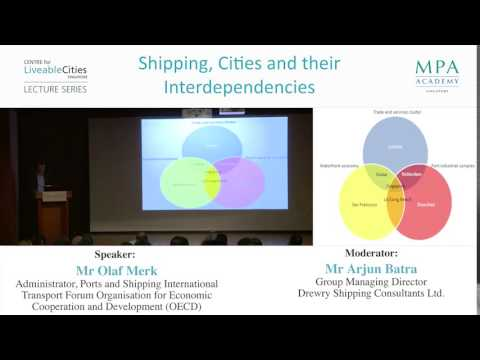 Singapore and its port city development's overlapping benefits