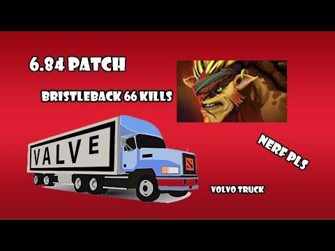 Bristleback in 6.84 | DotA 2 Volvo Truck
