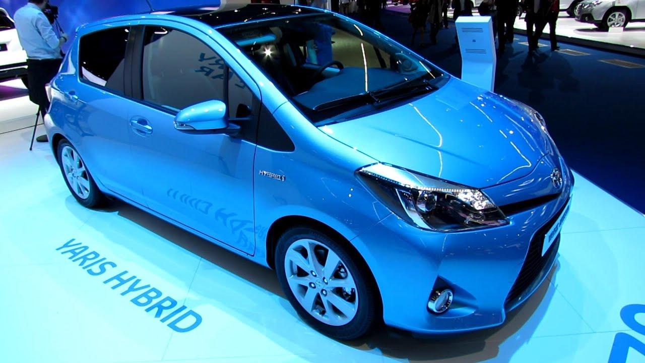 2014 Toyota Yaris Hybrid - Exterior and Interior ...
