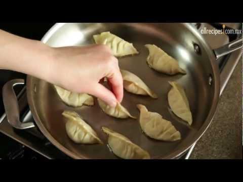 Empanadas japonesas (Gyoza)