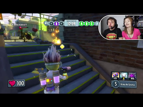 BOMBA DE GNOMO! - Plants vs. Zombies: Garden Warfare (XBOX ONE)
