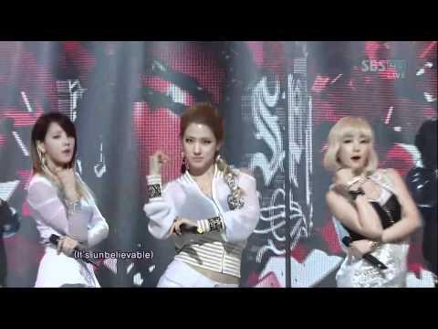 SPICA [PAIN KILLER] @SBS Inkigayo 인기가요 20120422
