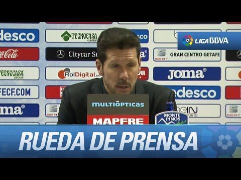"""Diego Simeone: """"Es muy positivo el saber sufrir"""""""