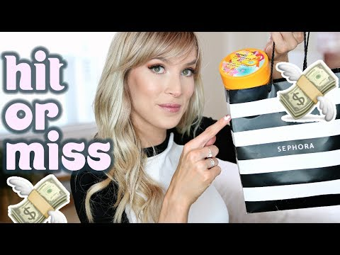 SEPHORA HAUL + REVIEW   BIG HITS & MISSES