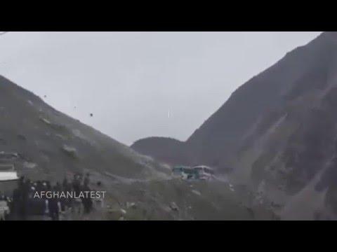 SHOCKING LANDSLIDE CAPTURED ON VIDEO IN AFGHANISTAN 2015