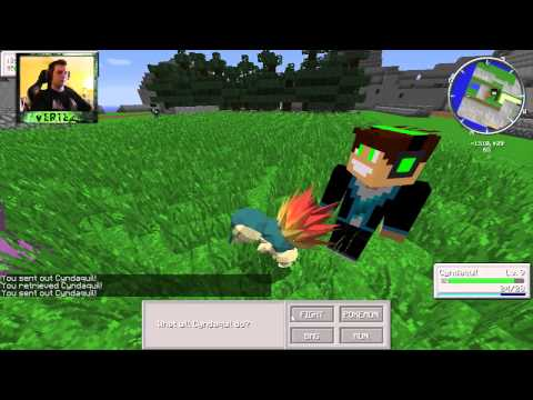 Minecraft Pokemon #1 Vertez HunterBright
